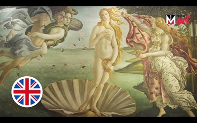 """THE BIRTH OF VENUS"" BY SANDRO BOTTICELLI"