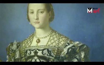 """ELEONORA OF TOLEDO WITH HER SON GIOVANNI"" BY AGNOLO BRONZINO"