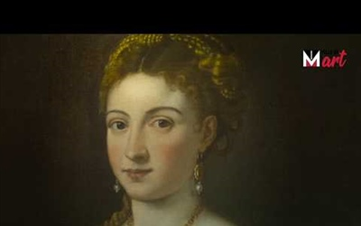 """PORTRAIT OF A LADY (LA BELLA)"" BY TITIAN"